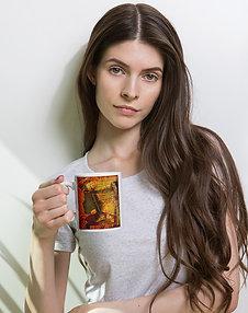 Enough - White glossy mug