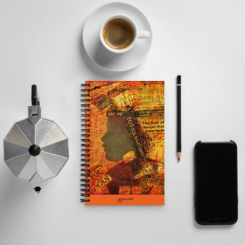 Enough - Spiral notebook