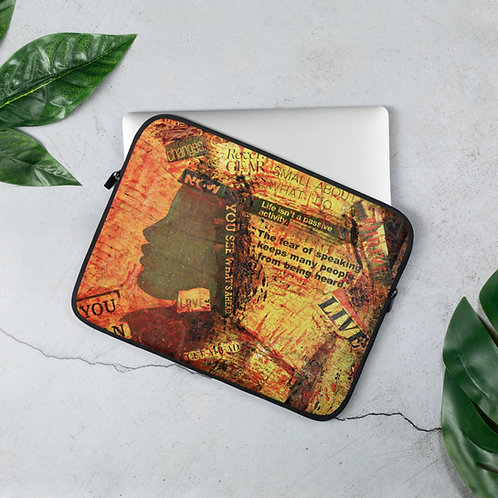 Enough - Laptop Sleeve