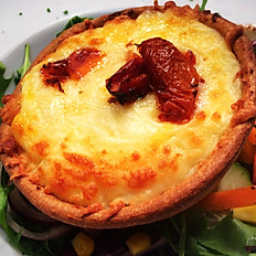 SAMPLE DAILY VEGETARIAN SPECIAL GOATS CHEESE TARTLET