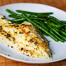 SAMPLE DAILY FISH SPECIAL BAKED COD