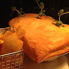 SAMPLE DAILY SPECIAL BEEF & GUINNESS PIE