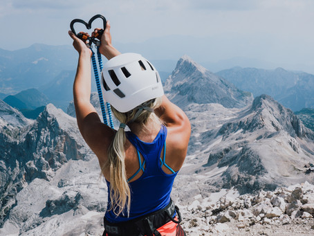 ON TOP OF SLOVENIA - MT. TRIGLAV (2864m)