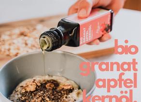 Granatapfelkernöl ♡ (punica granatum)
