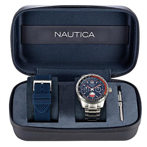 NAUTICA  WATCH PIER 39 BOX SET