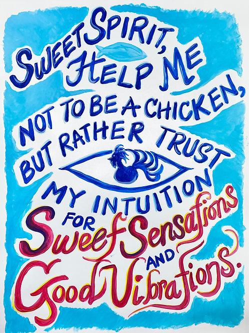 Sweet Sensations & Good Vibrations Original Art