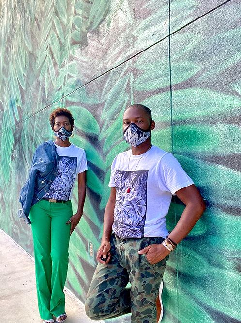Ze Jungle Designer T-shirt & Mask - Gift Bundle
