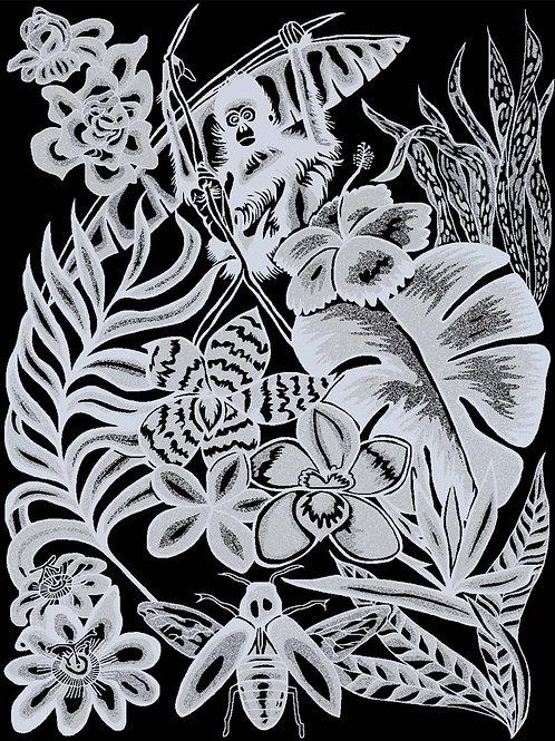 Ze Jungle Decorative Area Rug