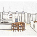 LS Residence Kitchen Rendering Colored 2