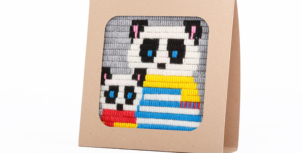 PANDA | needlepoint kit