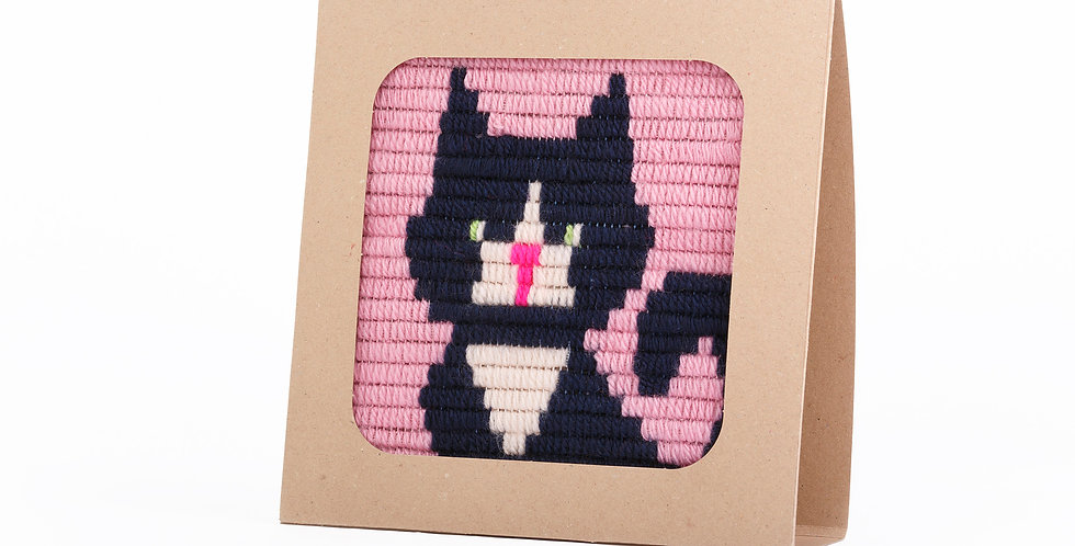 KITTEN | needlepoint kit