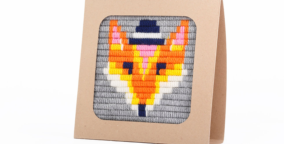FOX | needlepoint kit