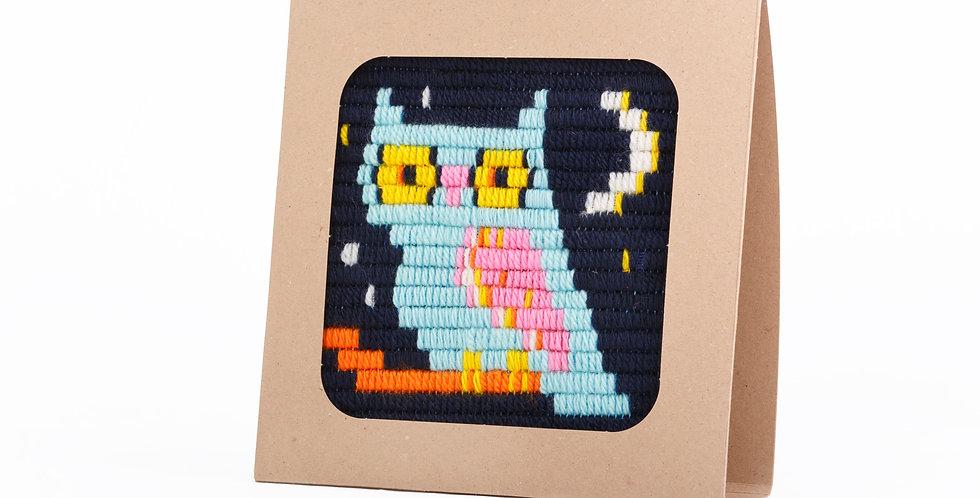 OWL | needlepoint kit