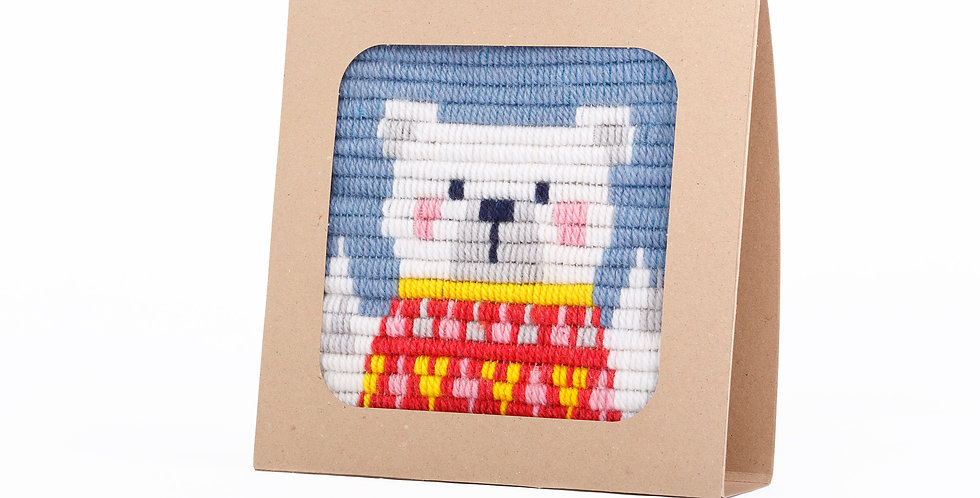 POLAR BEAR | needlepoint kit