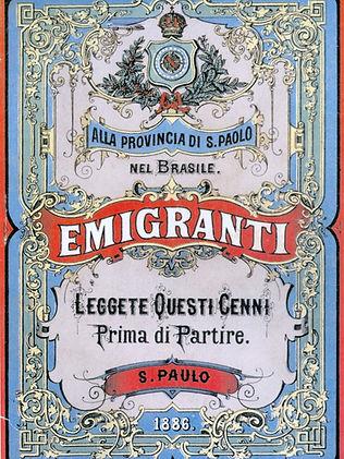 história cidadania italiana imigração