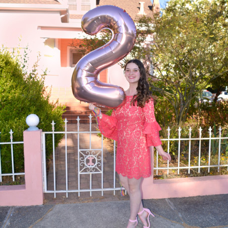 2 Year Blogiversary!!!! + Why I Started This Blog