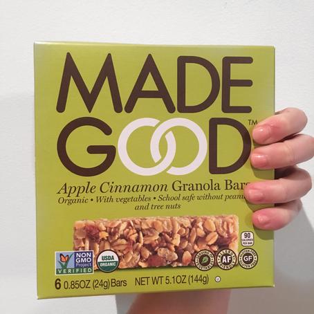 Review: MadeGood Granola