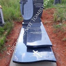 Double Layer Cross Tombstone