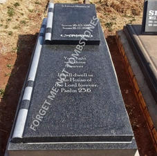 St Mary on bible ledger tombstone