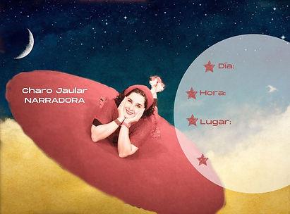 Charo Jaular NARRADORA cielo cone spai (