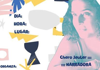 Charo Jaular___ NARRADORA CON ESPACIO TS
