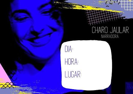 Charo jaular narradora azul ESPACIO SI.j