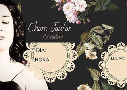 cartel Charo Jaular ABUEL@S text ESPACIO