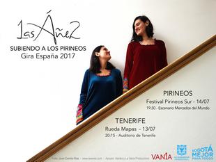 SUBIENDO A LOS PIRINEOS (gira España 2017)