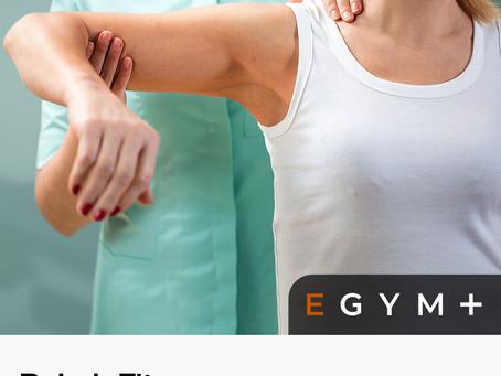 Rehab Fit: EGYM Training Program