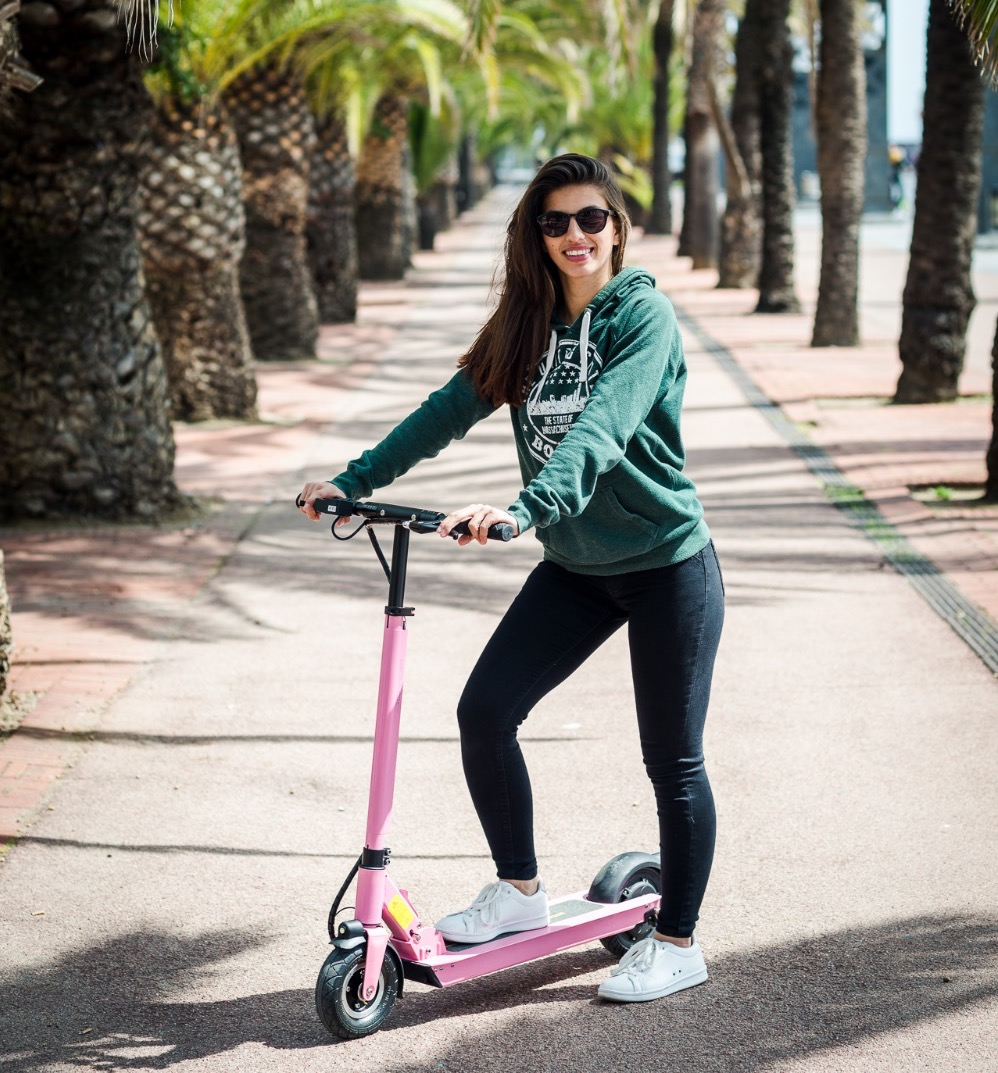 Electri scooter Joyor F5 Pink