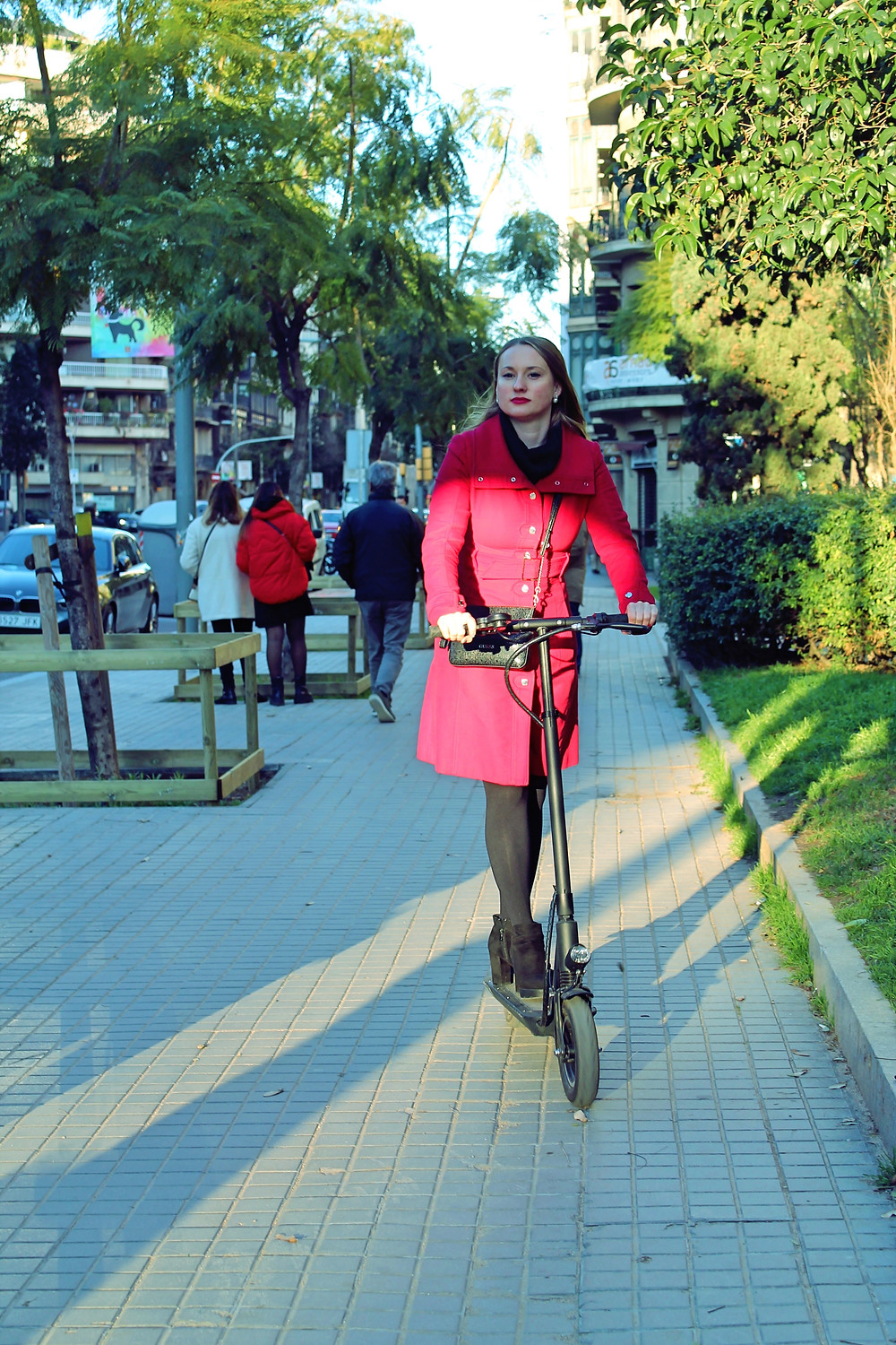 Joyor Electric Scooter city tourism