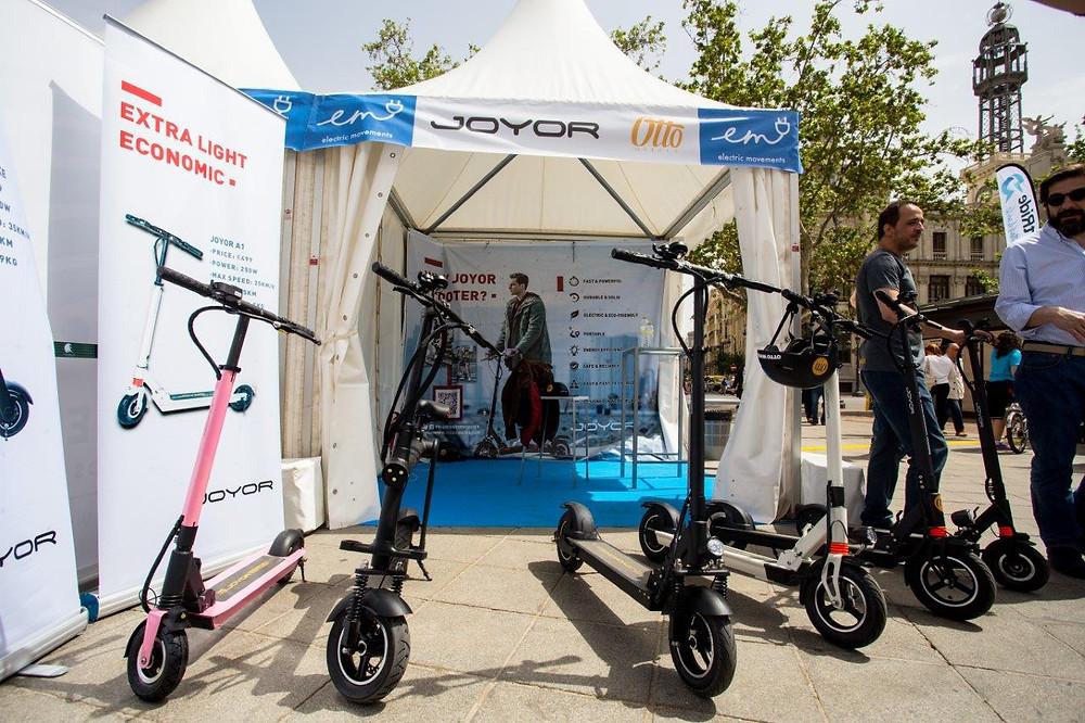 patinete eléctrico Joyor en Electric Movements en Valencia