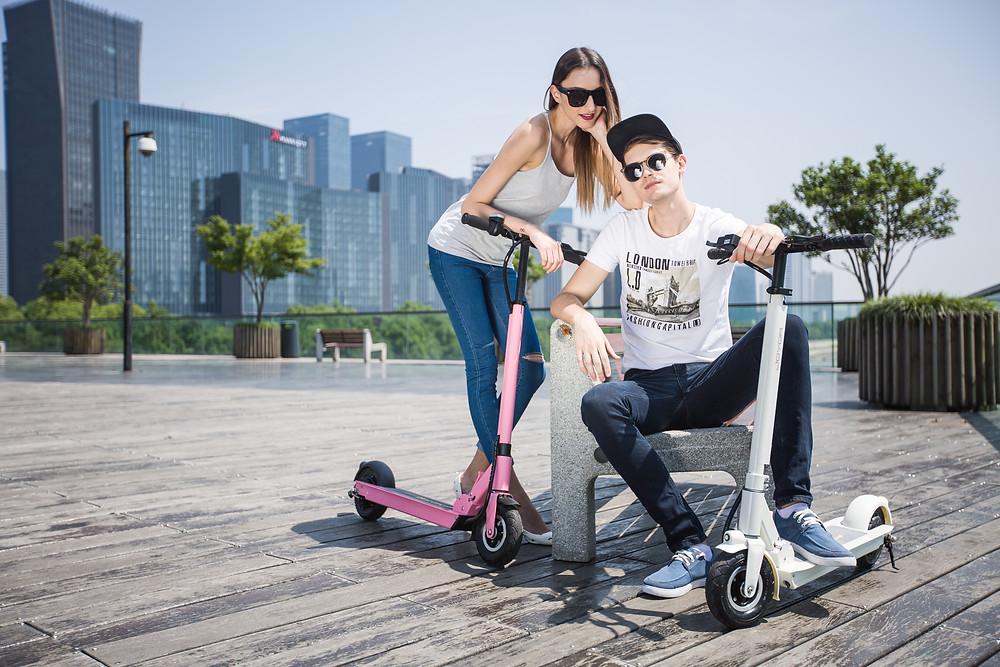 patinete eléctrico Joyor Serie F