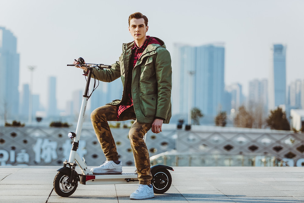 electric scooter joyor with seat
