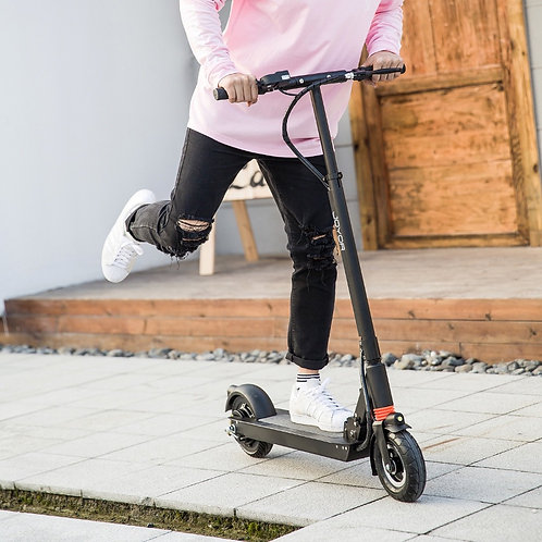 Electric scooter Joyor F1 black with front suspension