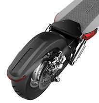 Scooter elétrica Joyor Y luz e freio traseiro