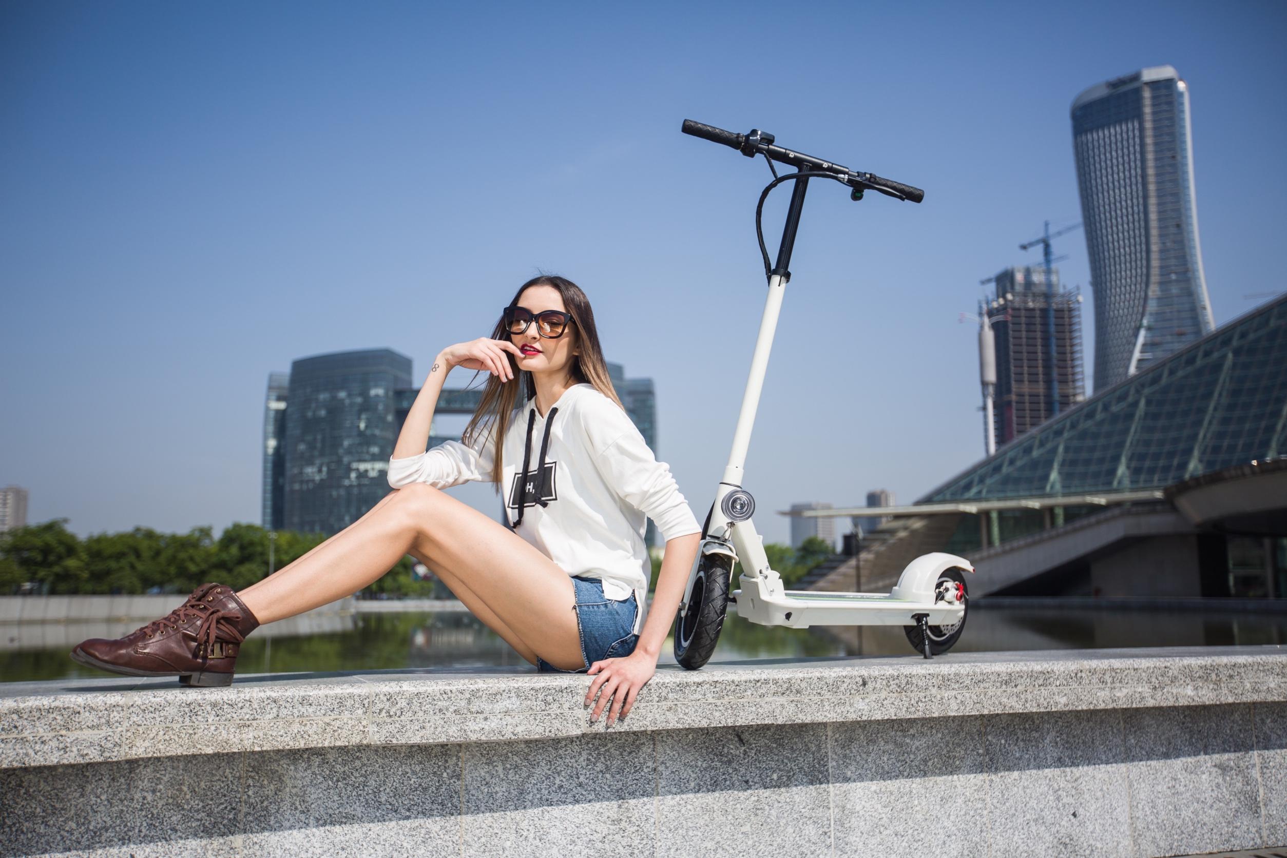 Electric scooter Joyor X1/X5S white