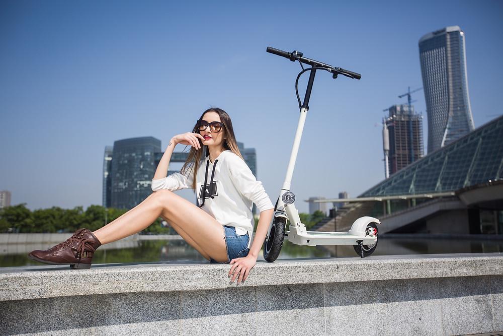 Joyor Electric Scooter Women's Day