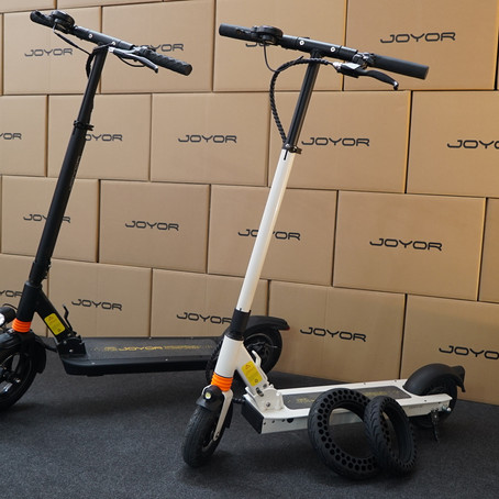 VIVE LA MOTO 2019: Joyor Electric Scooter Participated in One of The Biggest Moto Exhibitions