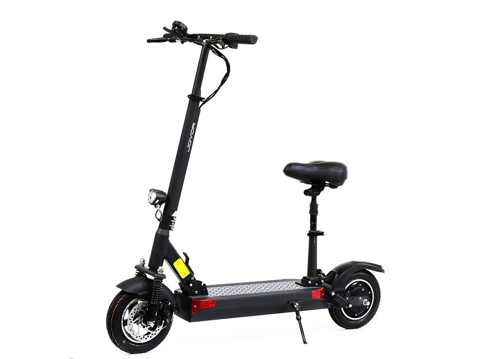 patinete eléctrico Joyor Serie Y con asiento