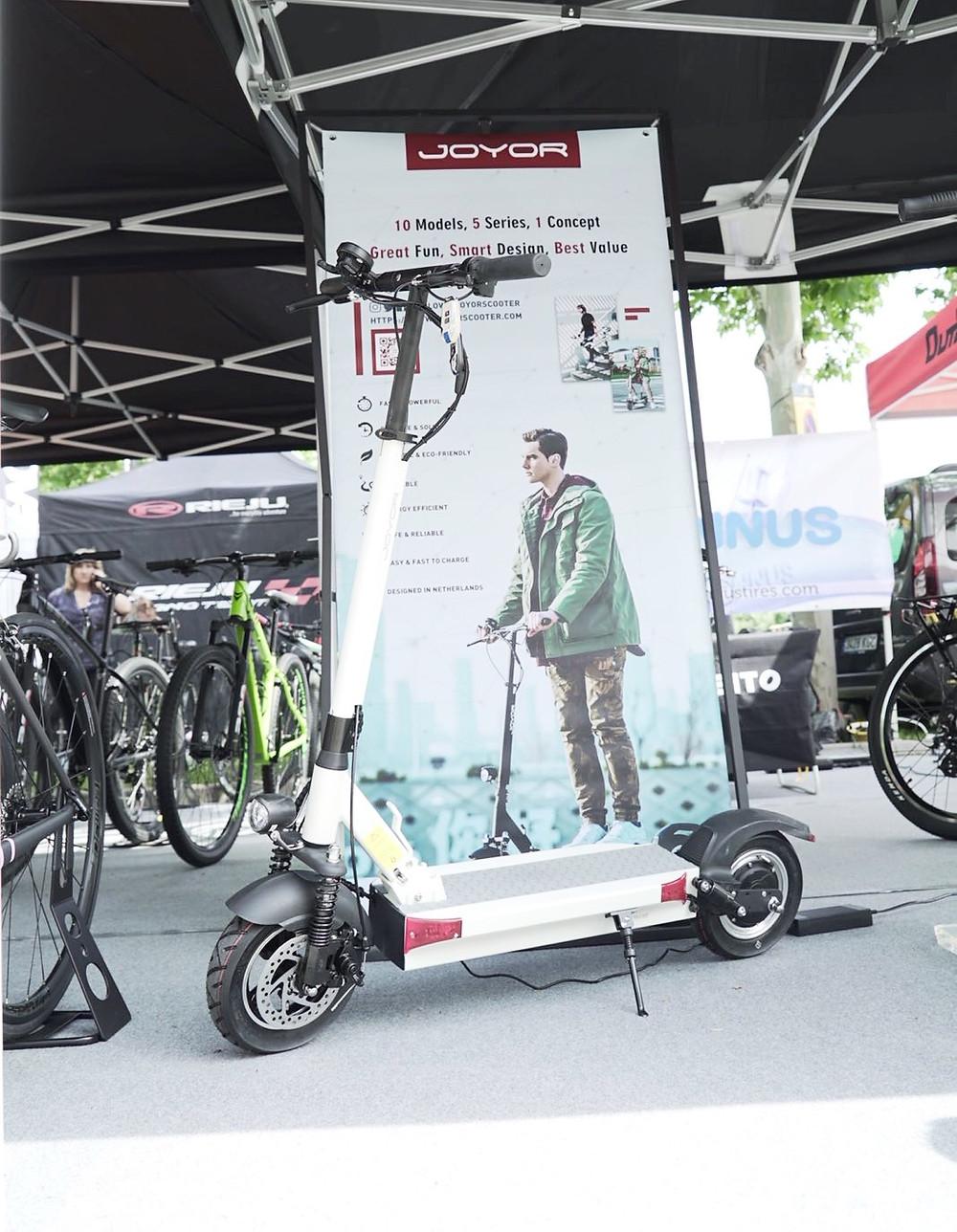 electric scooter joyor y serie 100km autonomia