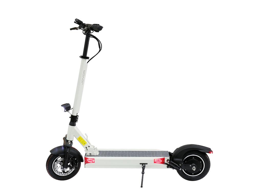 electric scooter joyor y5s white