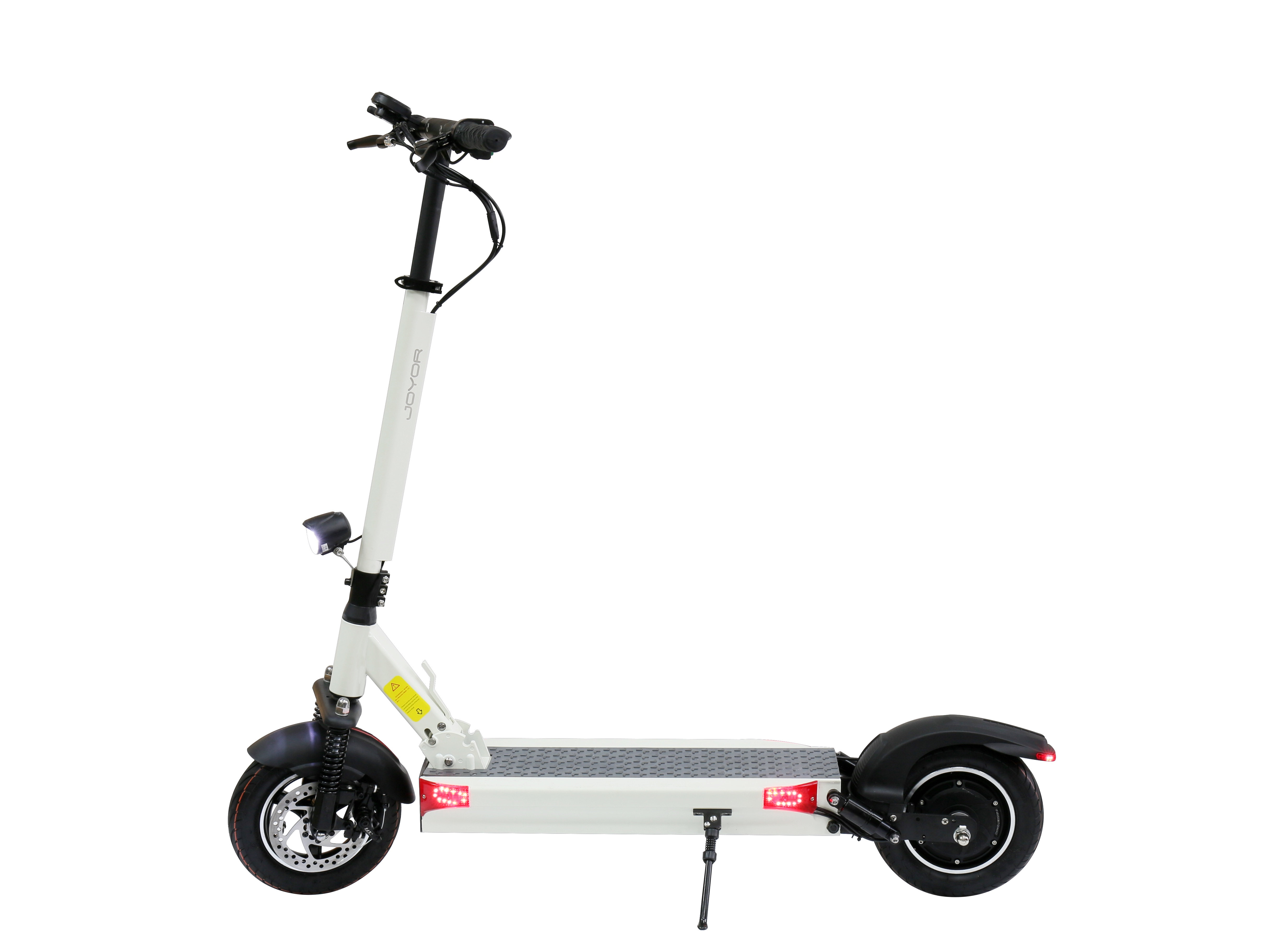 Electric Scooter Joyor Y10, Black/White, 500W,35km/h, Distance 100km