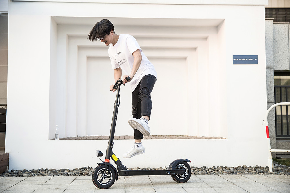 electric scooter joyor flat tire problem