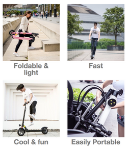 electric scooter advantages, electric foldable scooter Joyor