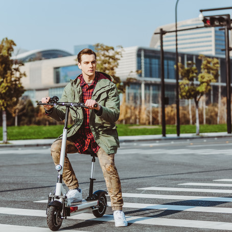 Electric Scooter Riders Do These 3 Things to Virtually Never Get a Flat Tire Again