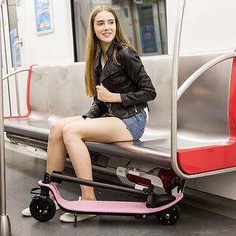 Electric scooter Joyor H1 pink