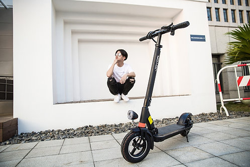 Electric scooter Joyor X1 black with front suspension