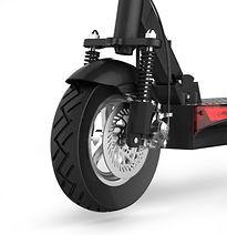 Scooter elétrica Joyor Y pneu e luz deianteiros