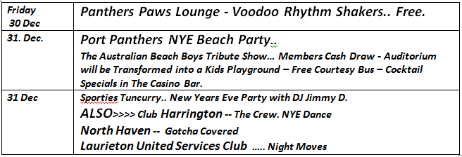Events New Year